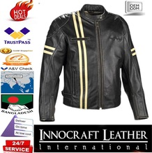 X-Men Wolverine black Motorcycle leather Jacket/Leather Racing Jacket/Motorcycle Leather Jacket