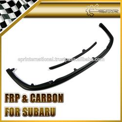 For SUBARU Impreza GDB STI OEM Carbon Fiber Front Lip