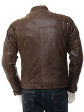 Men's Cow Leather Jackets For Men and young/Leather /Best quality promotional cow leather jackets