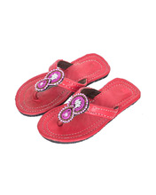 Childrens' leather sandals
