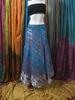 PRAGNANT LADIES MAGIC SILK WRAP SKIRT CUM DRESS - 100 WAYS TO WEAR