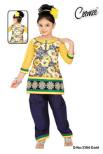 New Fashion Cotton Beautiful Embroider Designer Patiyala Dress / Patiyala Suit / Girls Party Dress