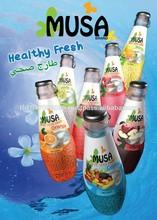 Basil Seed Juice Glass bottle 290ml