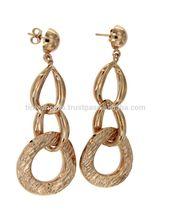 Silver Hopp Earrings Fashion Jewelry OR 7342