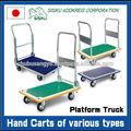 Durável e de alta qualidade fábrica de carrinho de rodas industriais para utilização do armazém, a ordem muito pequena disponível