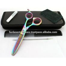 Titanium Thinning scissors | Titanium Thinning Shears | Multi Colored Scissors