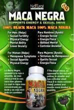 Maca Black 100 Capsules 500Mg Original Of Peru For Energizing fertilizing & Sexual Health