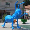Large Size Ant Statue Fiberglass Animal Sculpture Perfect Shape Vivid Color