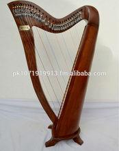 29 Strings Round Back Rose Wood Milan Harp