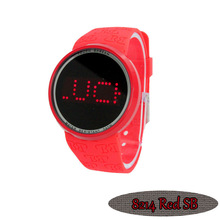 TechnoPave Touch Screen Watch RED