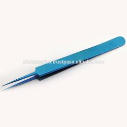 Titanium Fine Point Tweezer High precision ultra fine Tweezer