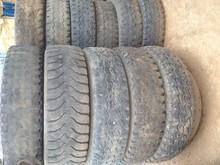 Scrap Truck tyres
