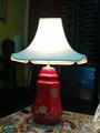 Laque de peinture sur céramique lampe de table pour hôtels, maisons d'hôtes, les stations balnéaires et décoration à la maison