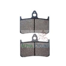 wholesale motorcycle disc brake pads AC121 for HONDA-CB 250/NSR 250/CB 400SF/VFR 400/CBR 900/VTR 1000 AC121