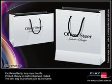 paper bag supplier, bag paper for apparel shop