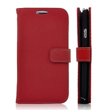 Braided Fabric Holster Leather Case for Samsung Galaxy S3