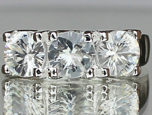 MagicGem Certified 925 Sterling Silver jewelry wholesale Natural Zircon women's engagement fashion Ring Thailand