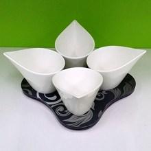 Porcelain tapas dishes
