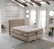 Upholstered Mattress Bed Set Moda