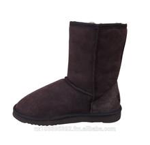 Unisex Sheepskin Short Boots Men's Size