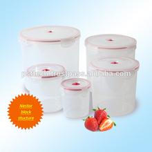 AirFree Vacuum Plastic container Plastic storage container airtight container- Round