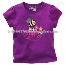 Trendy design printed girls tshirt womens tshirt ladies tshirt
