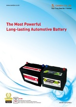 Car Battery Automotive Battery Lead acid Battery SMF Battery Auto parts Battery iQ Power & Eco Plus