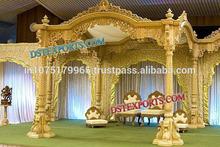 INDIAN WEDDING TRADITIONAL WOODEN MANDAP