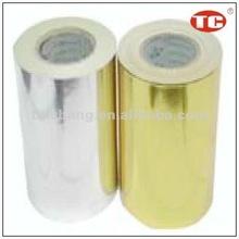 Gold/silver Self Adhesive Aluminum Foil Paper