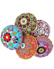 Ethnic Embroidery Cushion covers (Round and Square)
