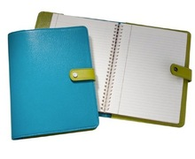 Faux Leather Diary Cover / Snap Closure PU Leather Diary Cover