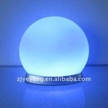 Changing color LED light