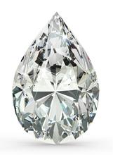 1.50 carat E SI2 Pear shape GIA Certified Natural Loose Diamond