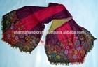 hand made wool lycra fashion scarf