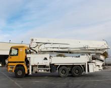 Putzmeister pompa per calcestruzzo brf 36 16 h in mercedes- benz camion