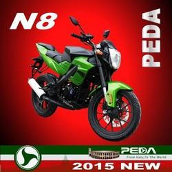 (N8) 2015 NEW 125cc motorcycle 200cc 250cc EEC COC racing bike Italian design EXCLUSIVE (PEDA MOTOR)