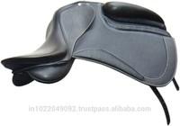 Leather Covered dressage Saddle with flexi plastic Saddle tree
