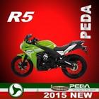 (R5) 2015 NEW racing 50cc motorcycle EEC Italian Design EXCLUSIVE (PEDA MOTOR)
