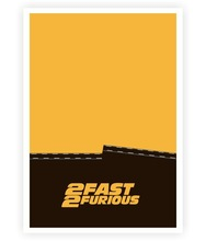 2 Fast 2 Furious Movie inspire Quotes Poster