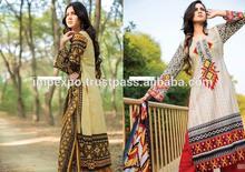 Ladies Designer Printed Lawn Suit with Lawn Dupatta