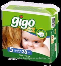 Gigo Baby Diaper Junior Size High Quality