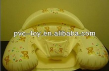 pvc inflatable comfortable baby sofa chair