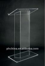 ALPPPD_001 Acrylic Lectern / Plexiglass Podium / Acrylic Platform / Lucite Acrylic Pulpit /Acrylic Dais