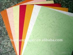 leather grain paper
