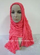 S449 Lovely design long muslim scarf