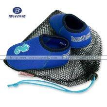 drawstring mesh shoe bag