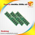 Taiwan Factory Memoria ram ddr2 2gb 800mhz 600mhz