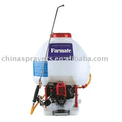 Knapsack Mitsubishi engine power Sprayer TF-900A, CE certified.