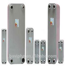 Double Wall Brazed Plate Heat Exchanger Dual Wall Heat Exchanger