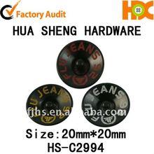 2012 HS popular design metal bulk buttons